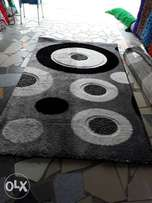 Center rug grey design 5x7