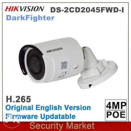 Original Hikvision English IP DS-2CD2045FWD-I 4MP POE Powered By DarkF
