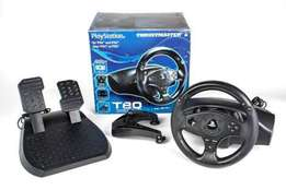 thrustmaster T80 playstation 4 steering wheel great condition + game