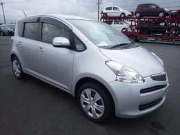 Toyota Ractis Year 2010 Silver 1300CC Fresh import