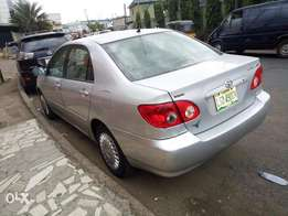 Toyota corolla 2005 first body