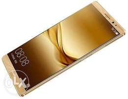 Huawei mate 8 latest edition. 4GB RAM Gold Color