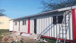 Container house fabrication services