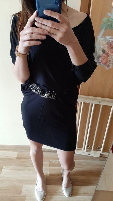 Czarna sukienka Gosia Baczyńska Rumia • OLX.pl