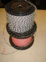 CABLE, SOLID TWISTED wire, perfect for door ring bell, alarm systems