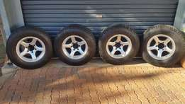 """16"""" Bakkie Mags with tyres"""