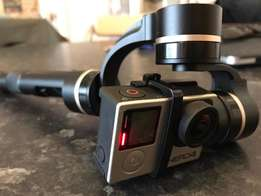 GoPro Black Hero 4 With 3-Axis Gimble for sale