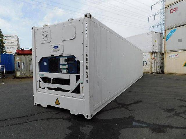 Carrier 40 ft. hc kühlcontainer kühlzelle kühlbot - 2008
