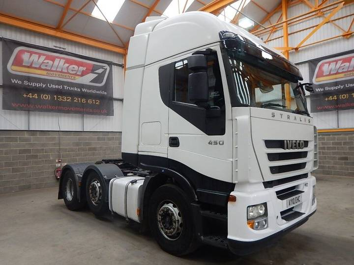 Iveco STRALIS 450 EURO 5 ACTIVE TIME 6 X 2 TRACTOR UNIT - 2010 - - 2010