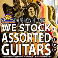 We buy and sell guitars