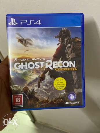 PS4 Ghost Recon wildland