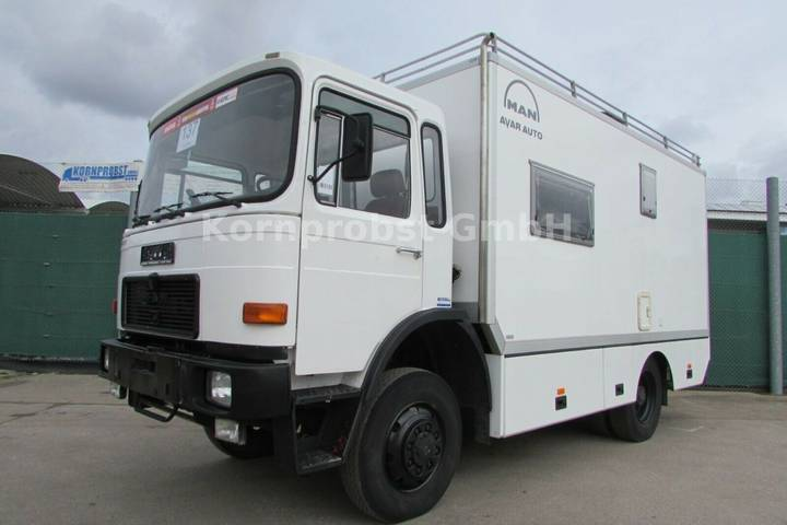 MAN 12.192 4x4 ALLRAD Expeditionsmobil - Reisemobil - 1987