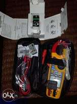 Earth leakage unit and major tech tester both. New