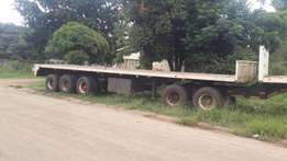 1995 12m try axle trailer