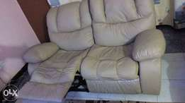 QUICK SALE: 2 Seater Recliner Leather Seats