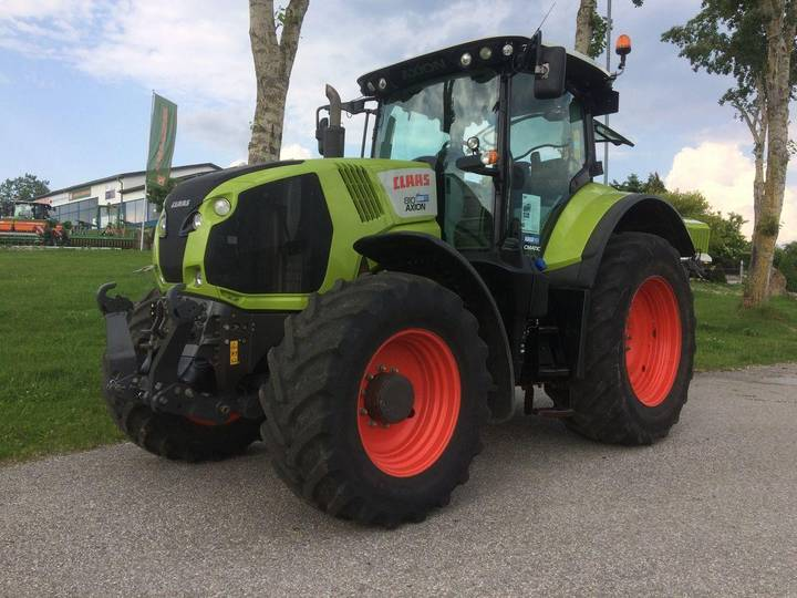 Claas Axion 810 C-Matic Tier 4 - 2014