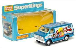 Matchbox Superkings K-80 Dodge Custom Van Rock n Roll
