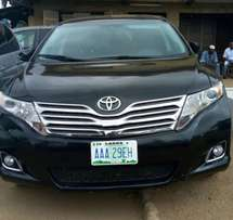 Registered Toyota Venza 2015 Edition, First body