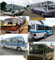 Buses for hire, at affordable rates