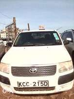 A White Toyota Probox Succeed for Sale