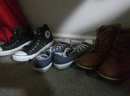 3 pairs of shoes for sale