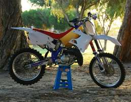 Yamaha YZ125 Finished project