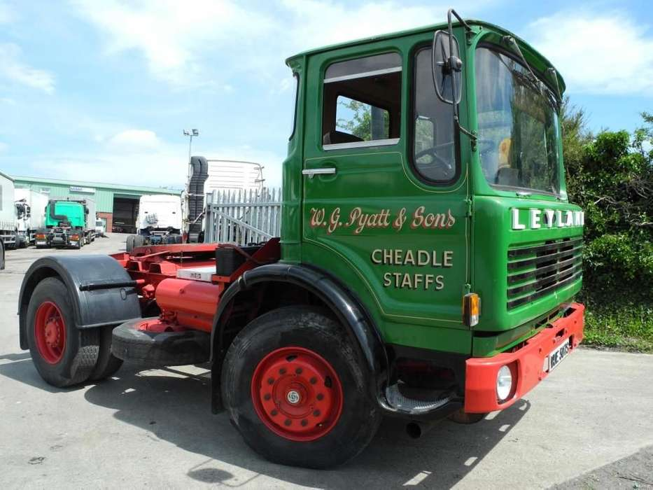Leyland Buffalo3bul/atp Tractor Unit - 1977