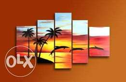 wall art-seascape paintings