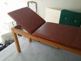 Doctors examination couch