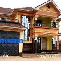 Beautiful lady 4 br with sq in ruiru house for sale