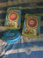 Rechargeable portable speed handy.fan with high speed capacity