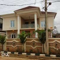Fully detached 5bedroom duplex at Opic Estate, Berger