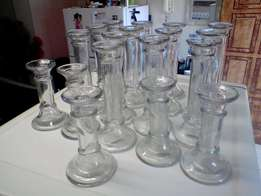 Candle Holders (Glass)
