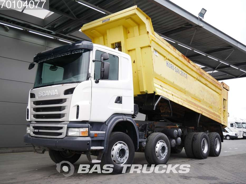 Scania G400 8X4 Manual 26m3 Big-Axle Steelsuspension Euro 5 - 2012