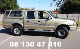 Mazda Drifter (2003) 2.5 turbo diesel double cab full house R89000