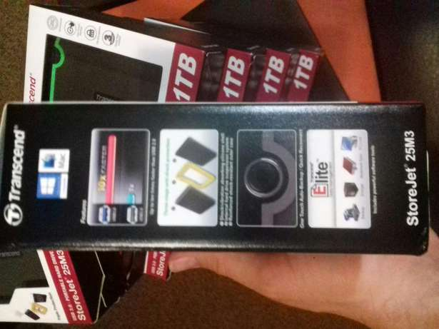 1TB External hard drive USB 3 sealed in boxes Newcastle - image 3
