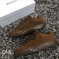 Fancy brown Balenciaga wear for men