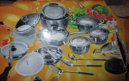 Selling L'Rs Dolphin 40 Piece Pot Set For R 850!!