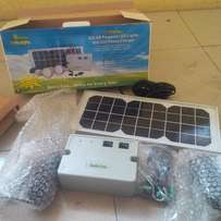 solar panel phone charger with light bulbs