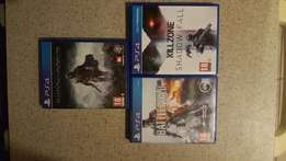 PS4 games for R200 or to swop