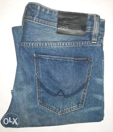 Superdry jeans 32/34 from England.