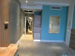 Plastering, Painting, waterproofing and tiling,