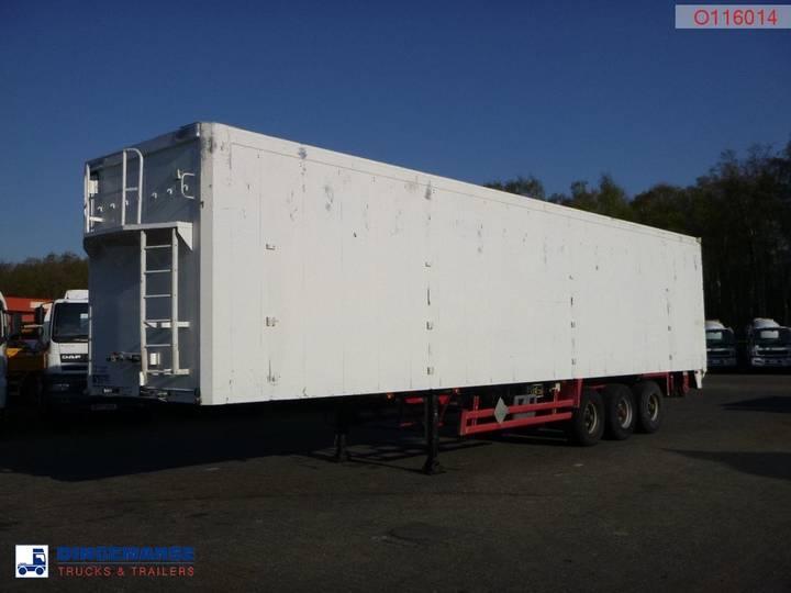Stas Walking floor trailer alu 91.5 m3 - 1997