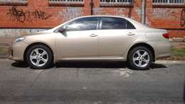 2011 Toyota Corolla Professional Automatic for sale at R120000