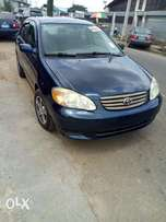 Toyota Corolla 2004 Model Tokunbo Lagos Clear Perfectly Condition
