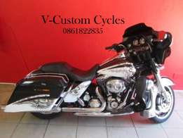 Very Special Street Glide HD Hells Release Paint Job No 13 of 200!