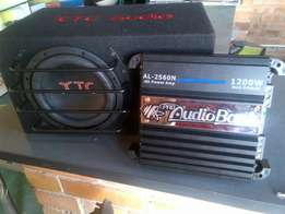 Xtc sub and box and amp