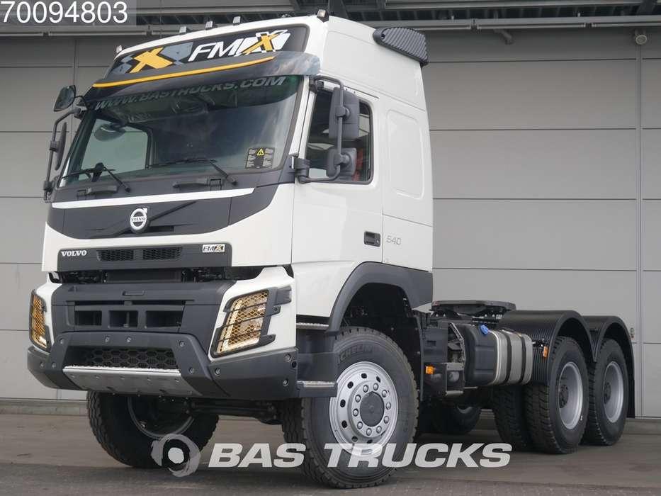 Volvo FMX 540 6X6 VEB+ Euro 5