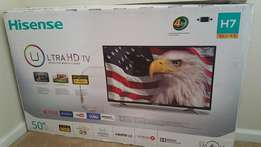 brand new hisense 50'' smart 4k tv