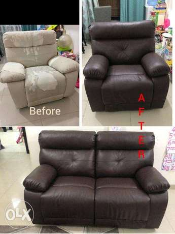sofa fabric upholstery and leather change